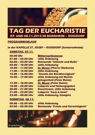 SNHandzettel Tag der Eucharistie 1